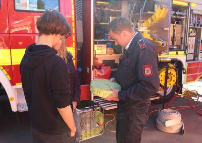 Berufsorientierung Feuerwehr