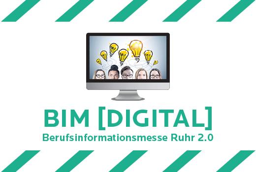 BIM Digital Berufsinformationsmesse Ruhr 2.0