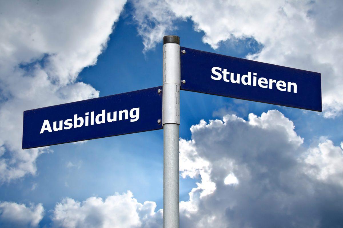 Passende Ausbildung oder Studium finden