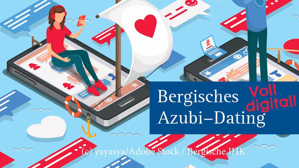 """Bergisches """"Azubi Dating - Voll digital"""""""