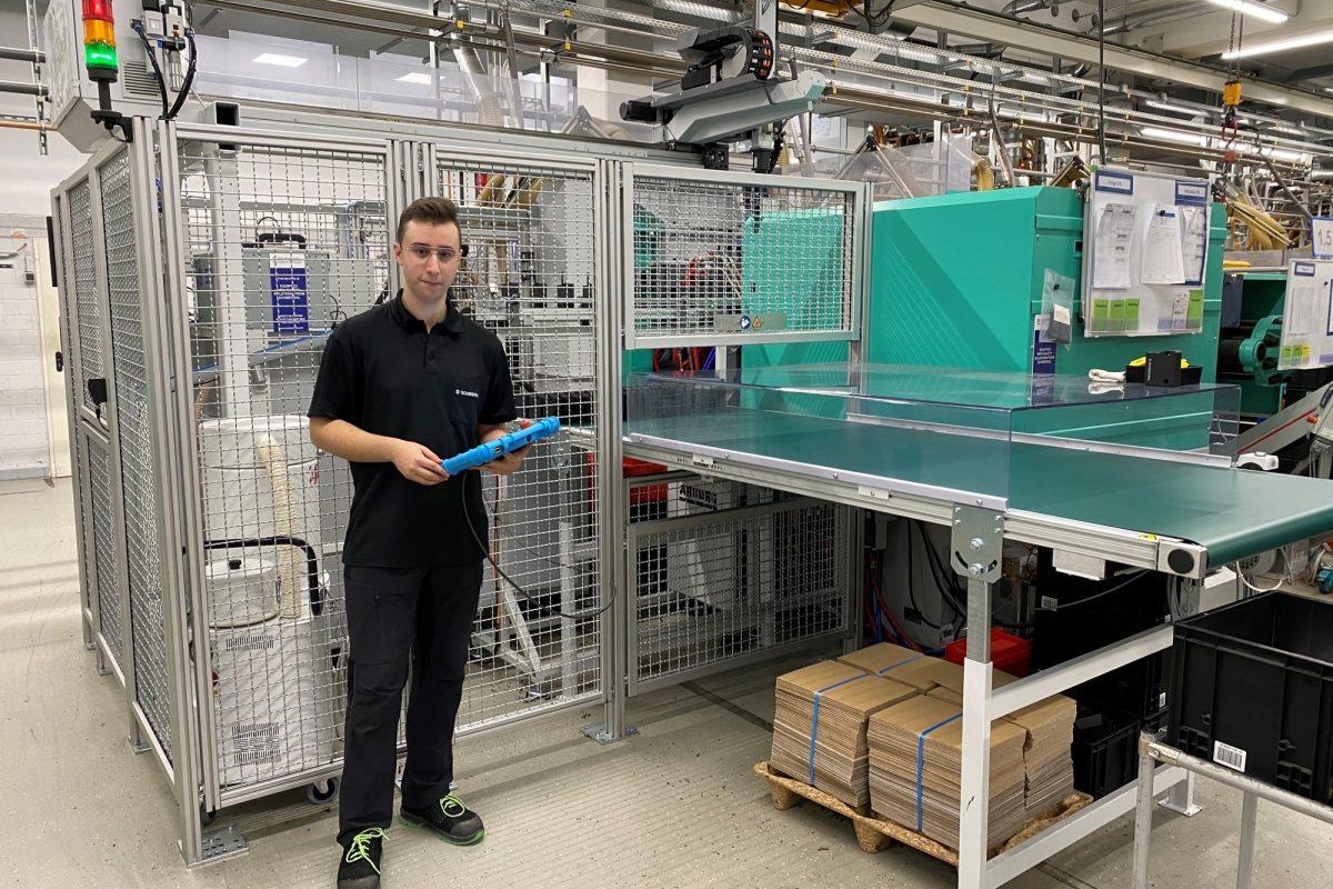 Dimitrios Tzortzis (20) macht eine Ausbildung zum Verfahrensmechaniker: Interview